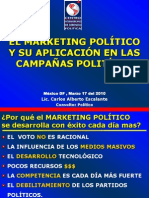 el marketing politico y su aplicación en las campañas politicas