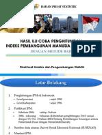 Perhitungan IPM Jawa Barat dengan Metode Lama vs Baru
