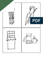 Latin Food Card Illustrations