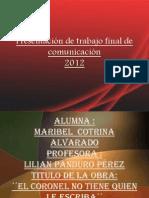 Trabajo Final de Comunicacion