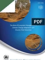 UNEP 2009 Role EcosystemManagement1