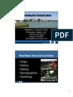 Restoring New Jersey's Coastal Lakes