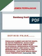 Manajemen Pajak Tax Planning