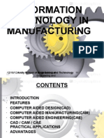 role of information technology in manufacturing
