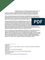 Kimberley Hoff PAR 116 Negligence - Damages