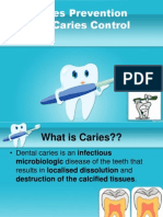caries prevention and managemnt