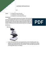 laporan instrumentasi mikroskop