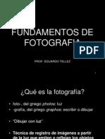 Fundamentos de fotografía