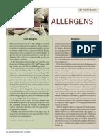 alergeni alimentario