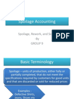 spoilage accounting