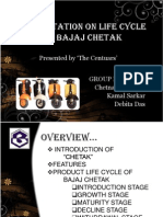 product life cycle of bajaj chetak