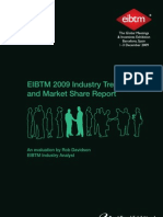 EIBTM 2009 Industry Trends & Market Share Report