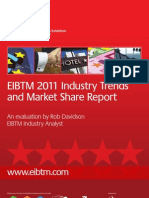 EIBTM 2011 Industry Trends & Market Share Report