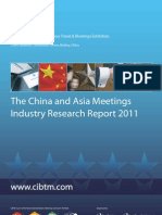 China and Asia Meetings Industry Research Report