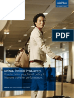 AirPlus. Traveller Productivity. How to Tailor Your Travel Policy to Improve Traveller Performance.