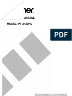 Brother PT-2420pc Service Manual