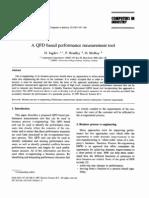 QFD based performance measurement tool