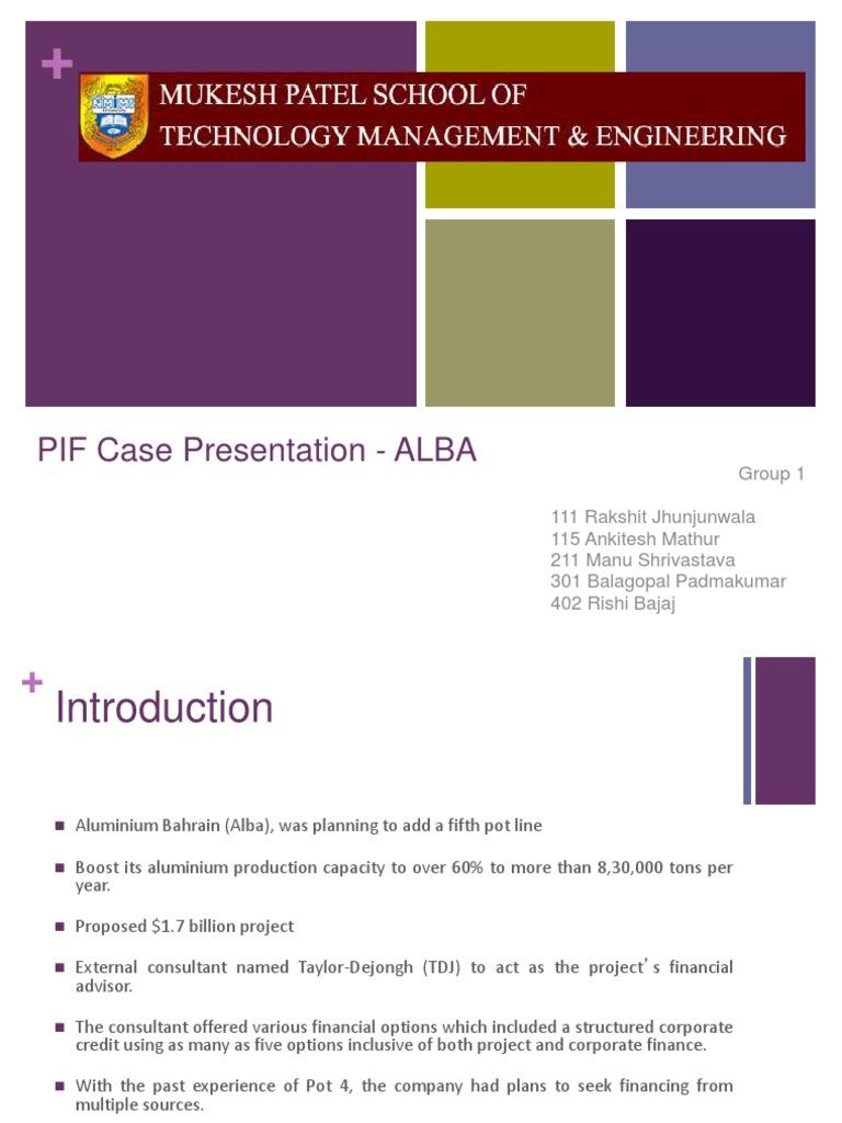 Aluminium Bahrain (ALBA): The Pot Line 5 Expansion Project