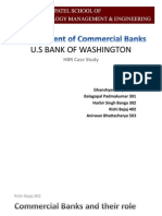 US Bank of Washington; Commercial Banks in US