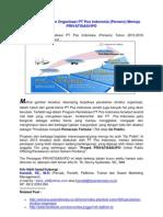 Arah Program Revitalisasi PT Pos  Indonesia (Persero) Tahun 2012-2016