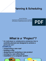 Project Planning & Scheduling Most Latest