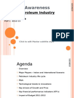 Oil and Petroleum Industry Analysis