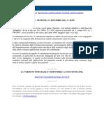 Corte Di Cassazione n 22599_2012