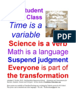 ENGLISH Transformation of Education Posters