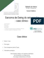 14 - Sarcoma de Ewing Do Seio Maxilar Esquerdo