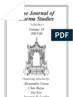 A Journal of Burma Studies