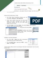 Modul 1-2 DreamWeaver CS5