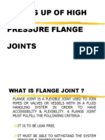 Boxing Up of High Pressure Flance Joints