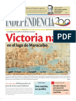 1823 Victoria naval en el Lago de Maracaibo