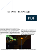 Taxi Driver - Shot Analysis