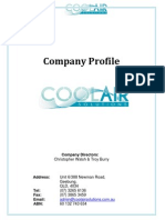 Coolair Solutions Profile