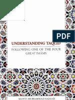 UnderstandingTaqleedByShaykhMuftiMuhammadSajaad