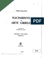DEMARGNE Nacimiento Del Arte Griego