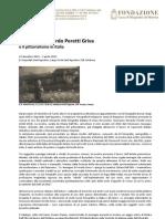 Domenico Riccardo Peretti Griva e il pittorialismo in Italia