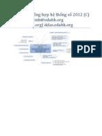 Thiết kế và tổng hợp hệ thống số-Bài Giảng
