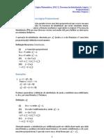 Teorema da Substituição Lógica Proposicional
