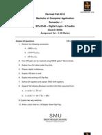 BCA1040 Fall Drive Assignment 2012
