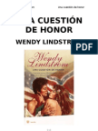 Lindstrom Wendy - Una Cuestion de Honor