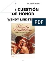 Lindstrom Wendy - Una Cuestion de Honor