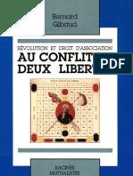 Au conflit de deux libertés - Bernard Gibaud