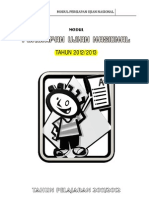 Modul Persiapan UN Matematika SMP 2012/2013