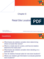 Ch 08 Retail Site Analysis