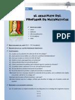 FICHA El Asesinato Del Profesor de Matematicas