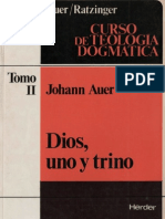 104406837 Auer Johann Dios Uno y Trino