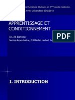 Apprentissage Et ConditionnementFIN