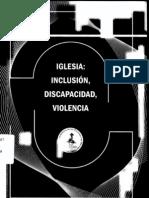 Iglesia - Incusion - Discapacidad y Violencia